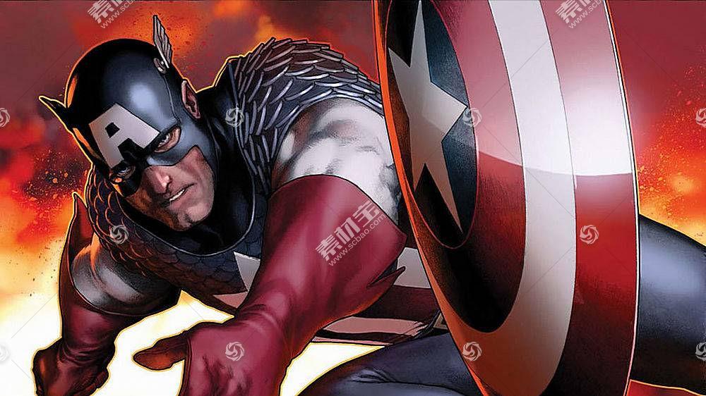 漫画壁纸,船长,美国,壁纸(7)