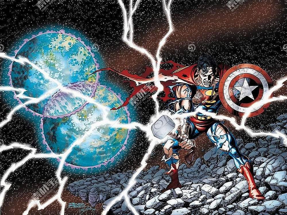漫画壁纸,公正,联盟,超人,托尔,船长,美国,哥伦比亚特区,漫画壁纸