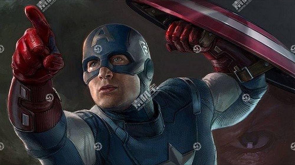 漫画壁纸,船长,美国,壁纸(9)