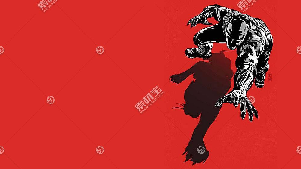 漫画壁纸,黑色,美洲豹,壁纸(13)