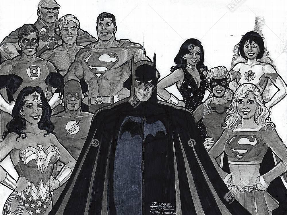 漫画壁纸,公正,联盟,超人,超级女声,勤务兵,奇迹,妇女,绿色的,灯