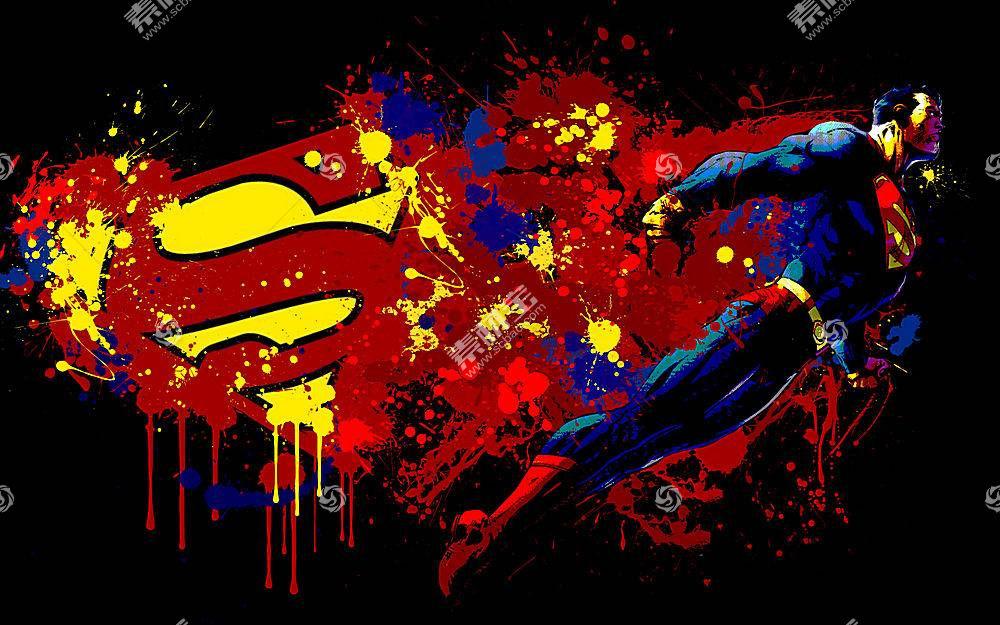 漫画壁纸,超人,壁纸(23)
