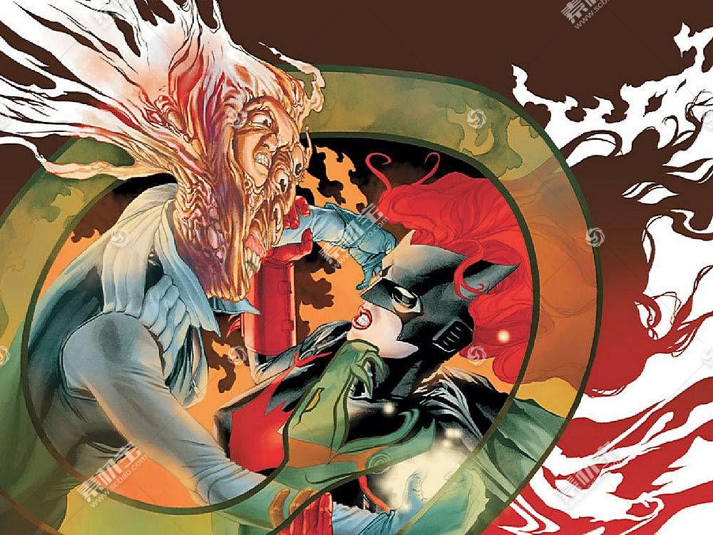 漫画壁纸,蝙蝠女侠,壁纸(32)