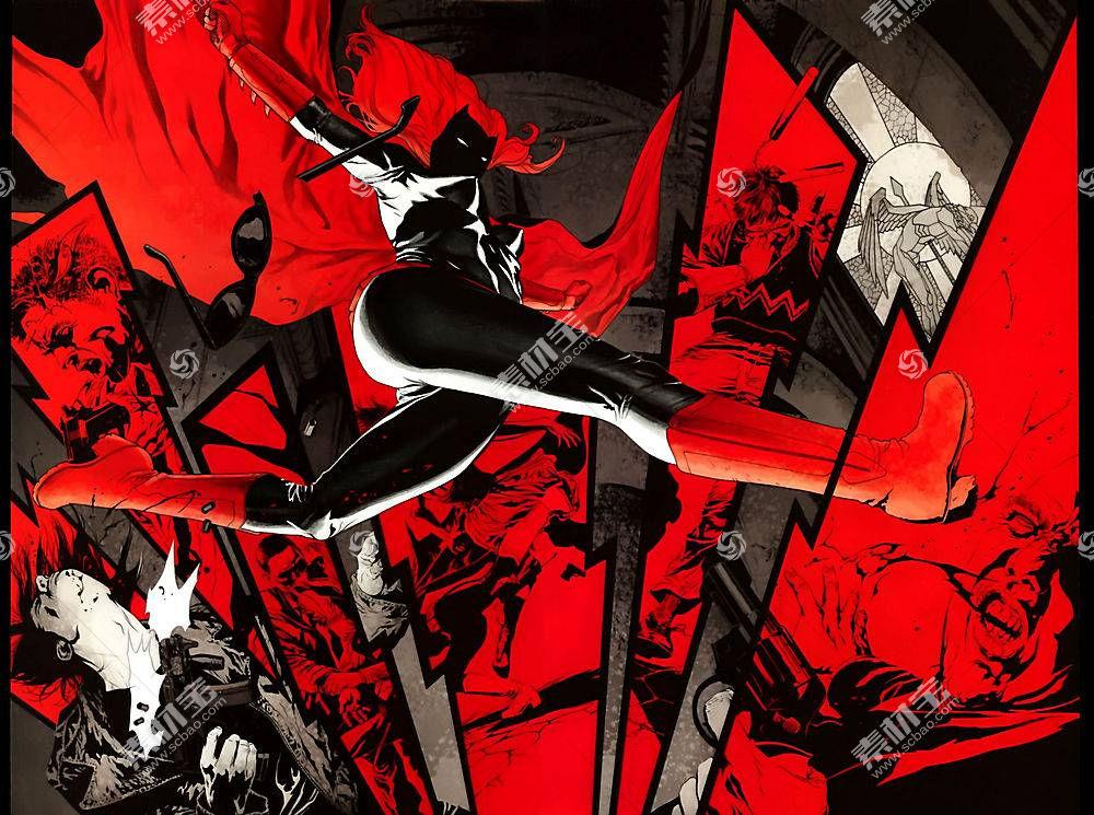 漫画壁纸,蝙蝠女侠,壁纸(39)