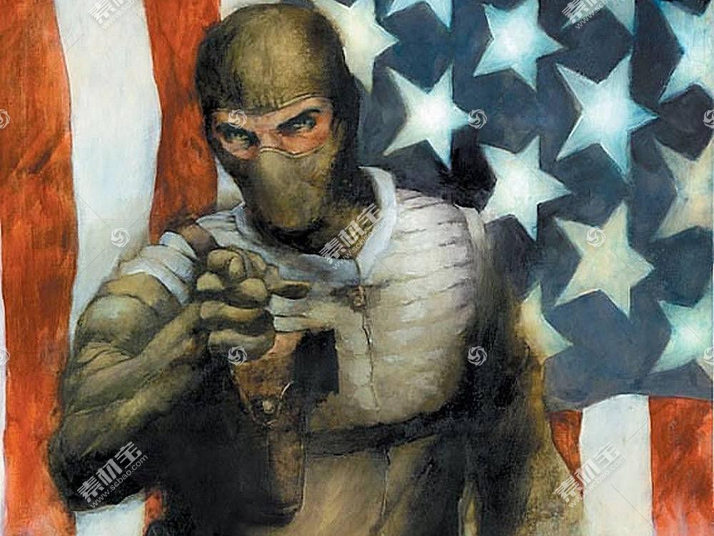 漫画壁纸,军用品,乔,壁纸(1)