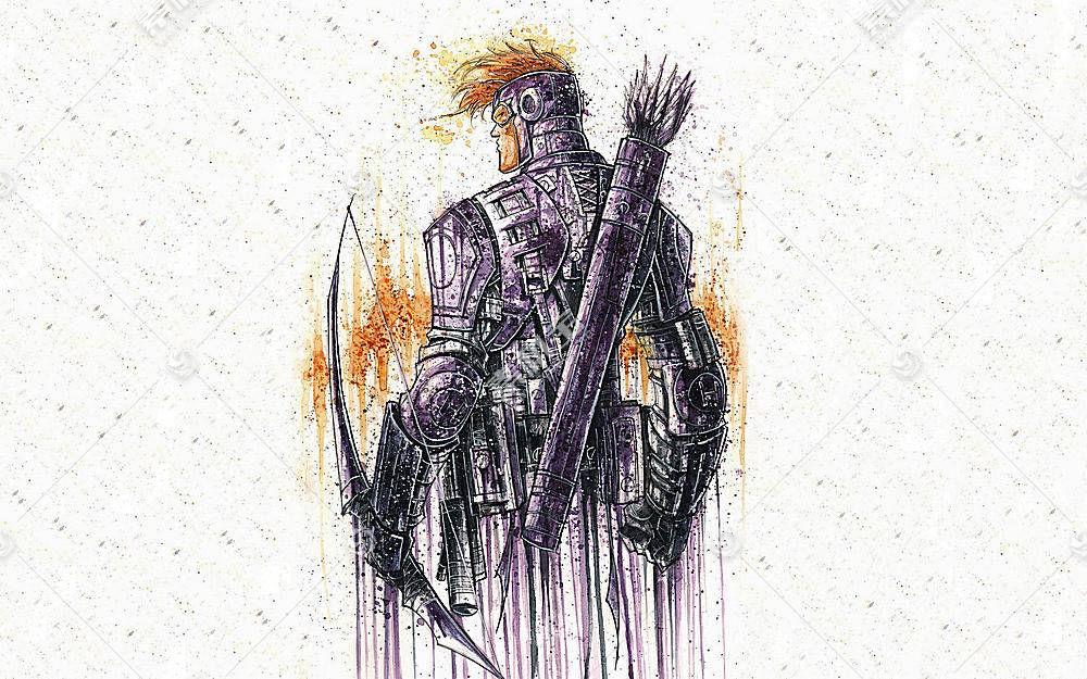 漫画壁纸,复仇者联盟,这,复仇者联盟,鹰眼,壁纸(1)