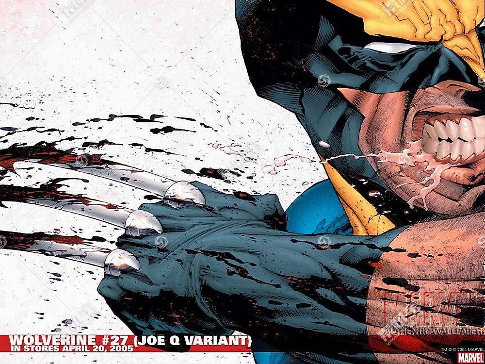 漫画壁纸,金刚狼,x战警,壁纸(6)