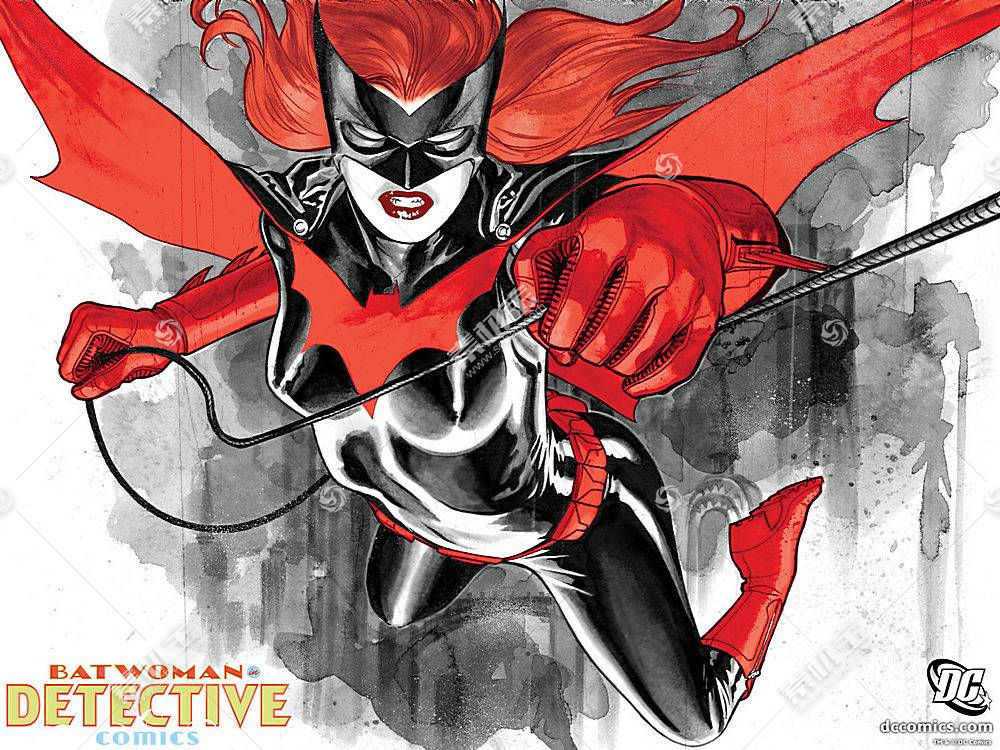 漫画壁纸,蝙蝠女侠,壁纸(10)