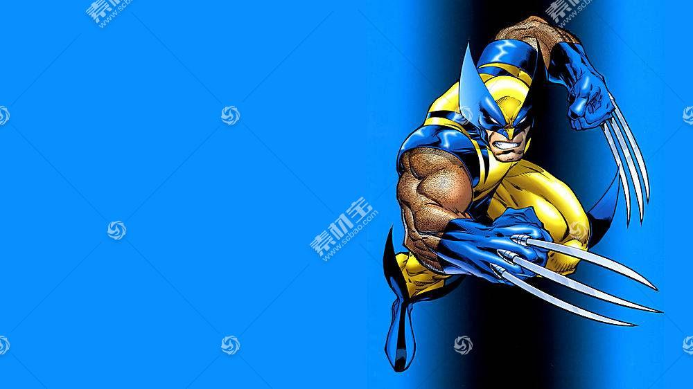 漫画壁纸,金刚狼,x战警,漫画壁纸,超级英雄,壁纸(15)