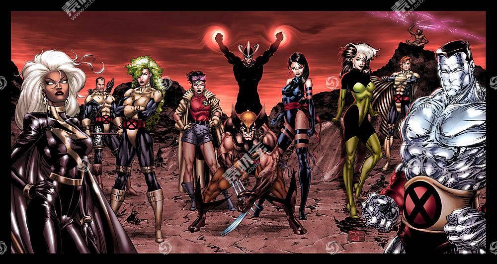 漫画壁纸,x战警,金刚狼,心理战,流氓,巨人,壁纸