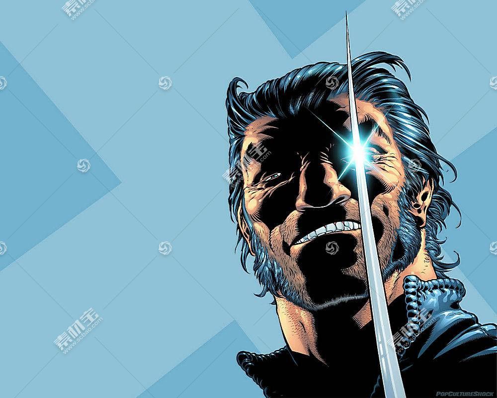 漫画壁纸,金刚狼,x战警,漫画壁纸,超级英雄,壁纸(19)