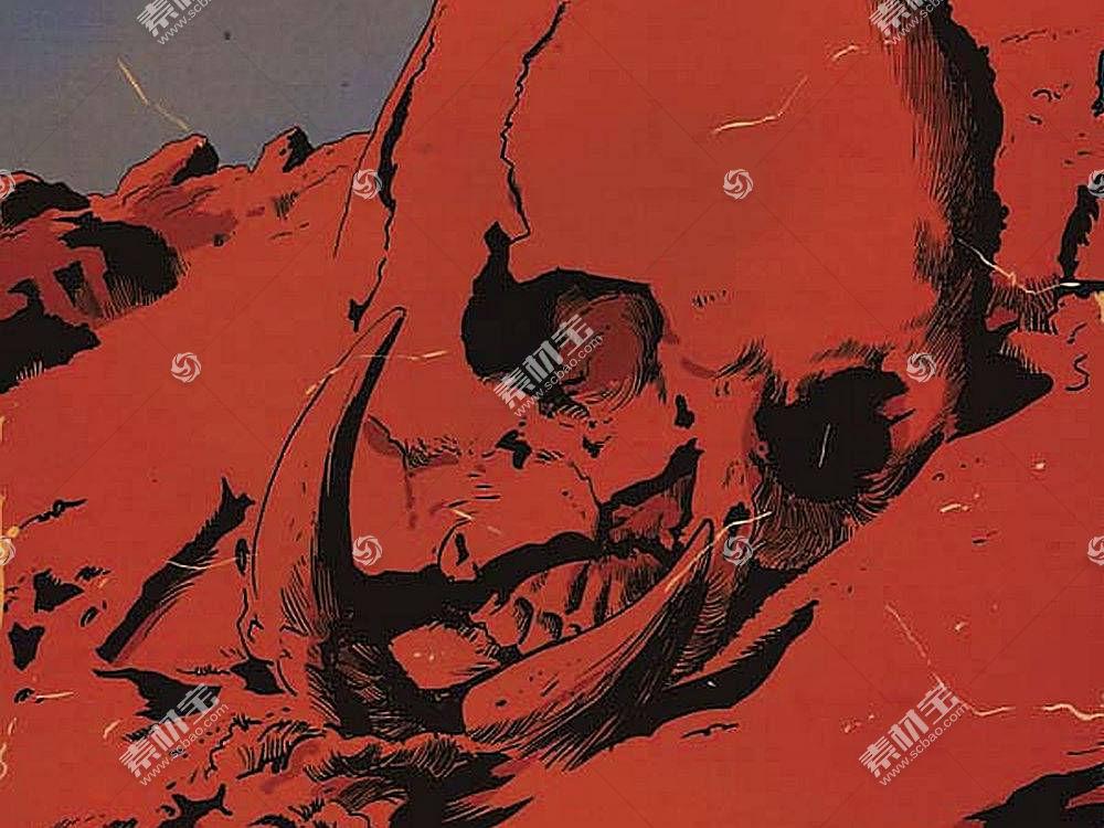 漫画壁纸,军阀,关于,火星,壁纸(8)