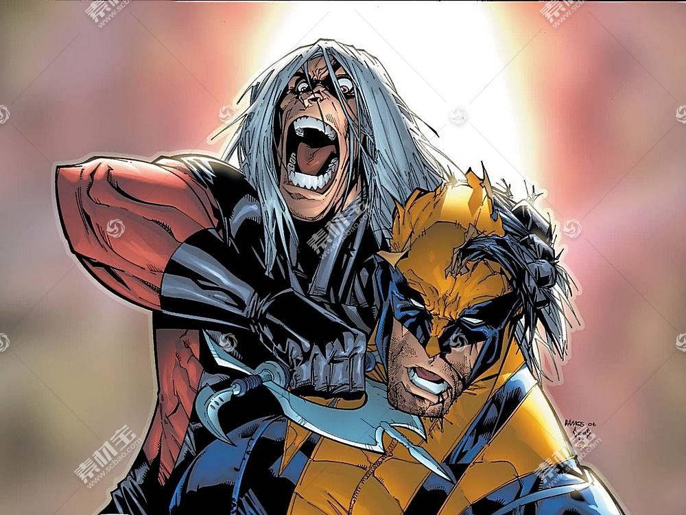 漫画壁纸,金刚狼,x战警,漫画壁纸,超级英雄,壁纸(9)