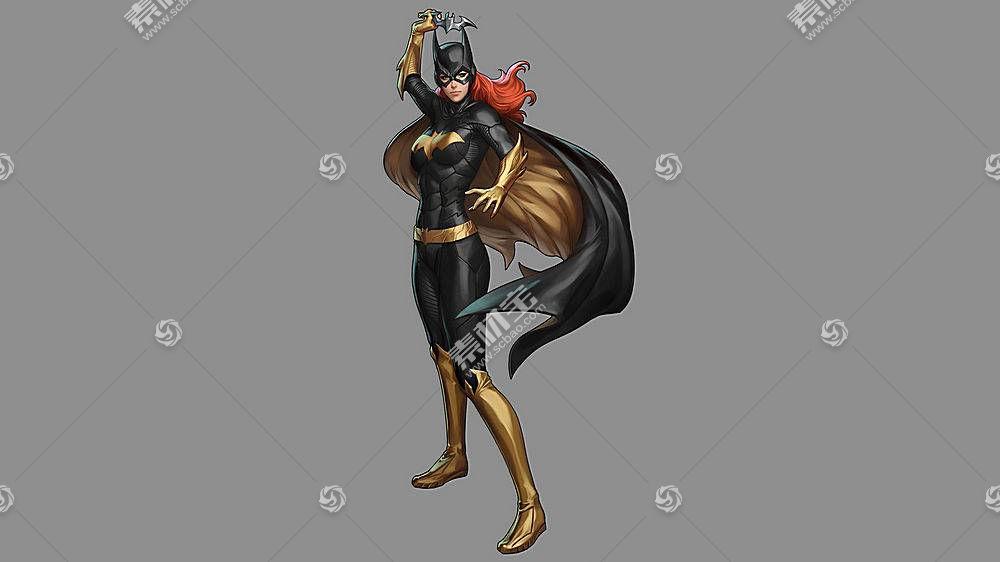 漫画壁纸,蝙蝠女侠,壁纸(52)