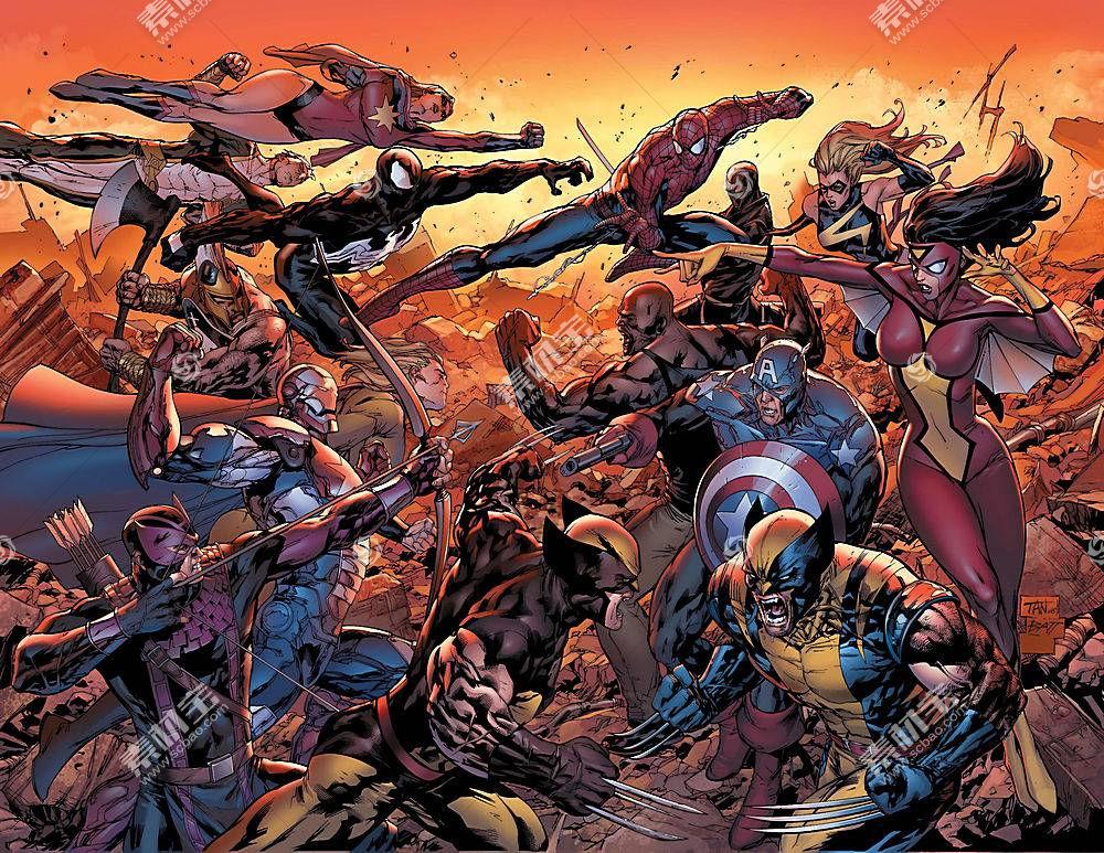 淘图网 高清壁纸 动漫卡通 漫画壁纸,新建,复仇者联盟,这,复仇者联盟图片
