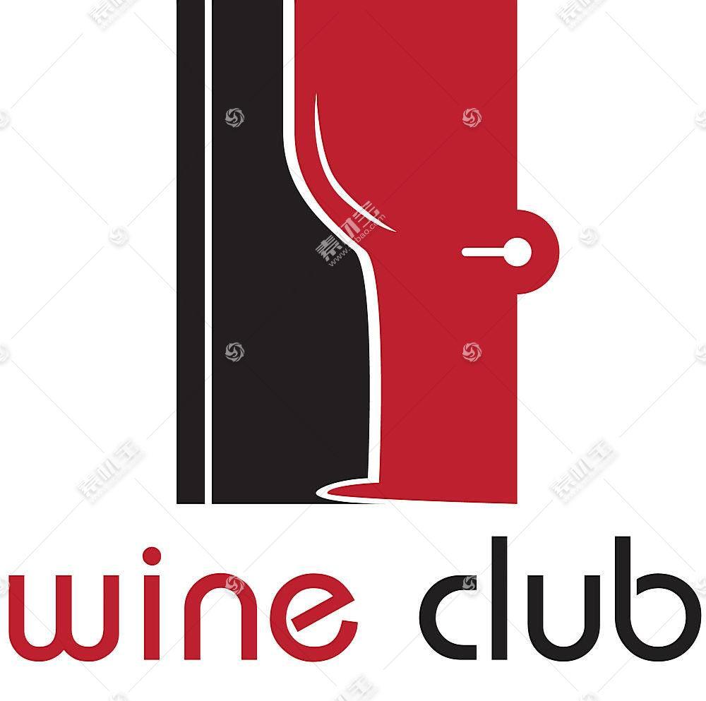 个性红酒俱乐部LOGO设计