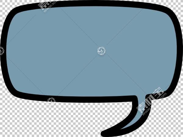 标注漫画语音气球,笑话的PNG剪贴画蓝色,角,漫画书,云,矩形,卡通,