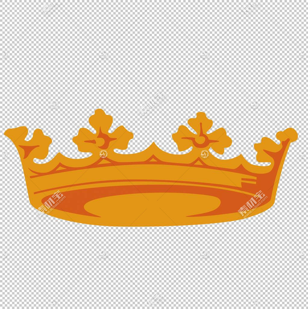 Adobe Hand Icon,手绘皇冠PNG剪贴画水彩绘画,摄影,橙色,生日快乐