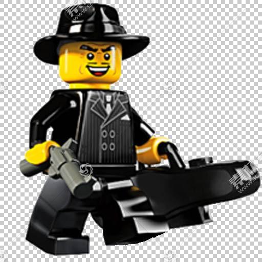 Amazon.com Lego Minifigures玩具,角色艺术设计PNG剪贴画卡通人