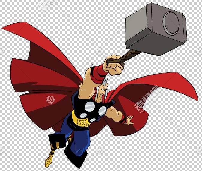 Thor Loki Superhero,Thor的PNG剪贴画复仇者,卡通,虚构人物,托尔