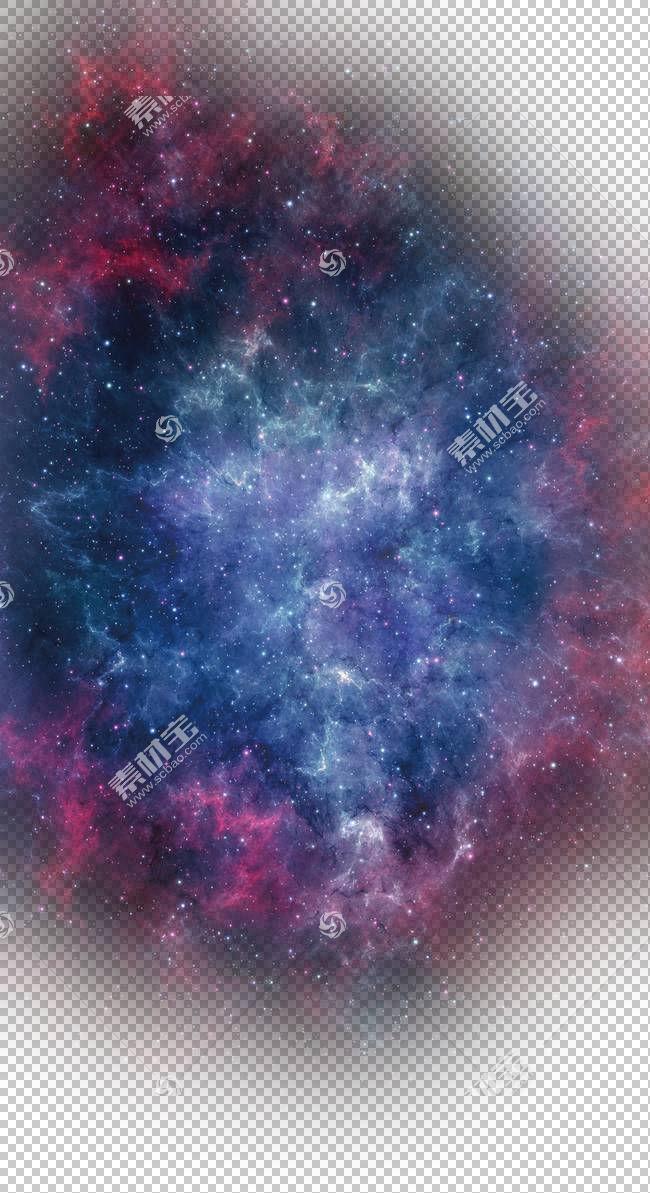 海报宇宙,星星,蓝色和红色星系3D PNG剪贴画紫色,质地,星星,紫罗