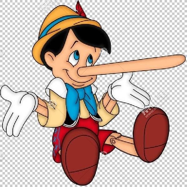谎言真相符号欺骗病态说谎,pinocchio PNG剪贴画杂项,儿童,食品,