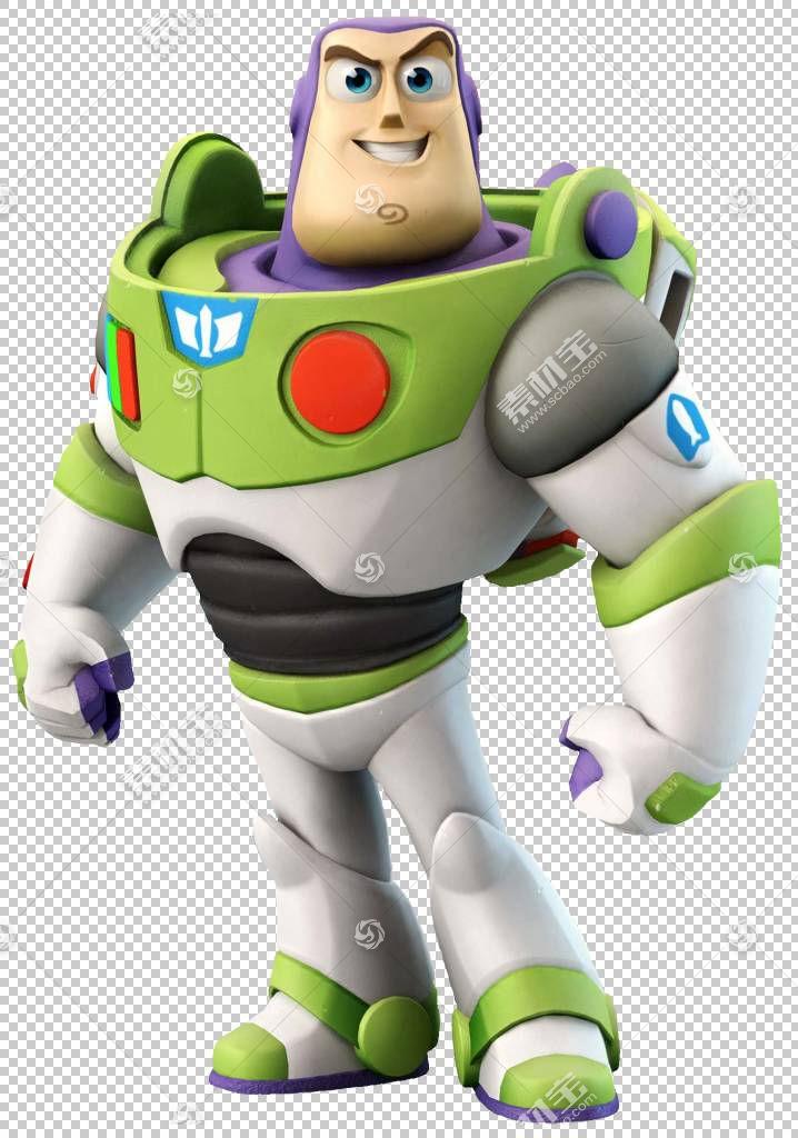 迪士尼Infinity Buzz Lightyear Jessie Sheriff Woody Lightning