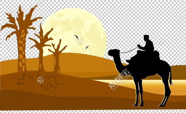 骆驼沙漠剪影,手,画抽象图案沙漠骆驼PNG剪贴画水彩画,漫画,动物,