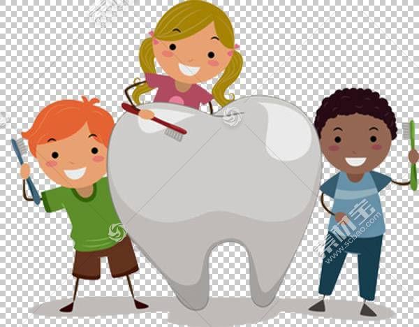 儿科牙科儿童牙齿腐烂,牙齿和卡通小孩PNG剪贴画卡通人物,人,蹒跚