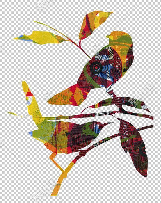 鸟纸拼贴画,拼贴鸟PNG剪贴画爱,画,叶,手,卡通,爱情鸟,剪影,鸟笼,