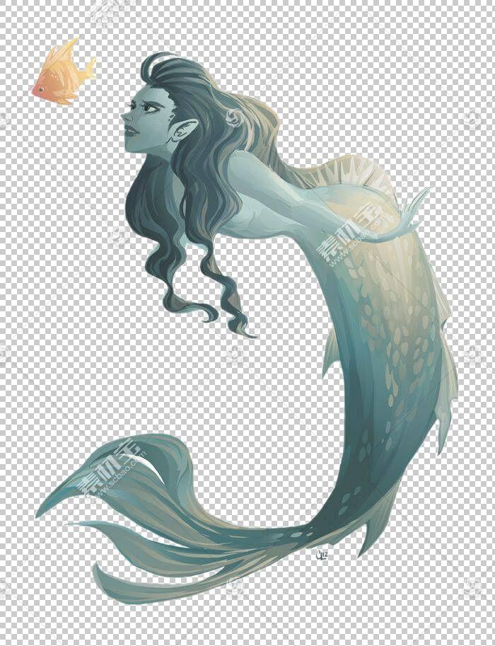 美人鱼绘图,美人鱼PNG剪贴画卡通,虚构人物,阿丽尔美人鱼,美人鱼