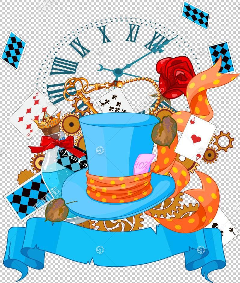 通过镜子。扑克,扑克和帽子PNG剪贴画食品,帽子,生日快乐矢量图像