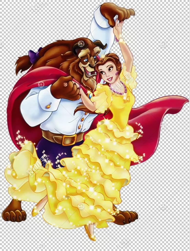 美女野兽白雪公主,美女与野兽,美女与野兽PNG剪贴画食品,漫画,迪