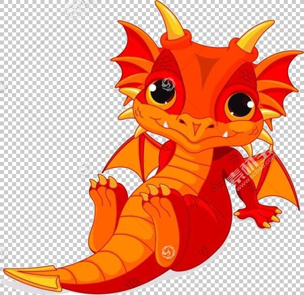 龙婴儿股票摄影,卡通恐龙材料PNG剪贴画卡通人物,橙色,漫画,虚构