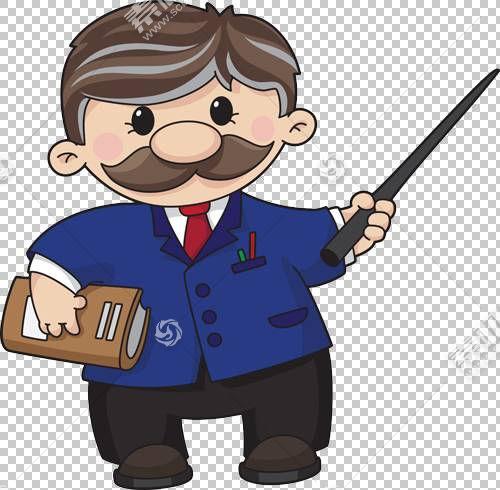 老师卡通,老师PNG剪贴画男孩,虚构人物,royaltyfree,老师,огэ,