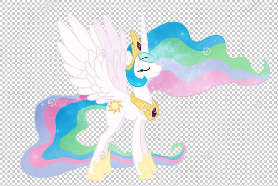 公主Celestia公主Luna暮光之城闪耀小马,公主Celestia PNG剪贴画