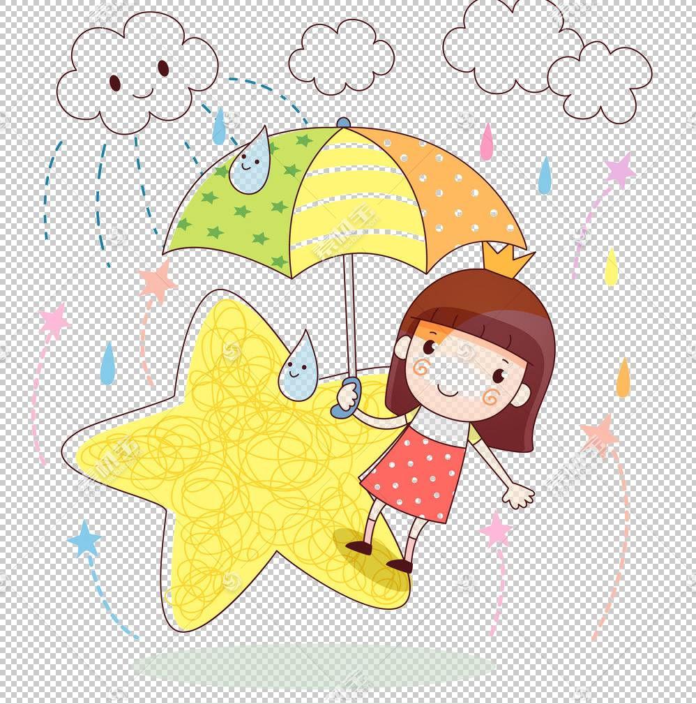 雨卡通,平面卡通PNG剪贴画卡通人物,食物,伞,文本,海报,漫画,虚构