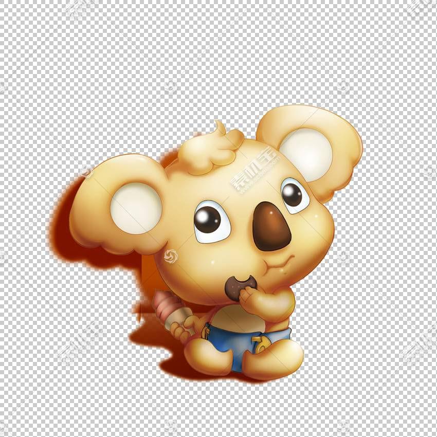 考拉卡通熊,卡通考拉PNG剪贴画卡通人物,动物,食肉动物,卡通武器,