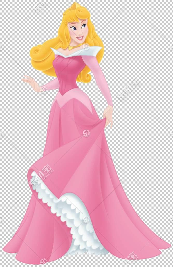 公主极光美女迪士尼公主睡美人绘图,睡美人PNG剪贴画虚构人物,卡