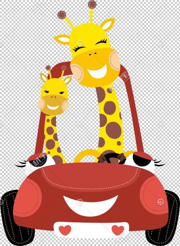长颈鹿欧几里德,驾驶长颈鹿PNG剪贴画哺乳动物,儿童,脊椎动物,汽