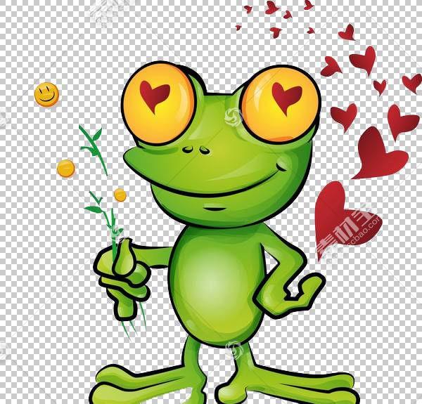 青蛙王子卡通,爱青蛙PNG剪贴画画,动物,手,摄影,脊椎动物,爱夫妇,