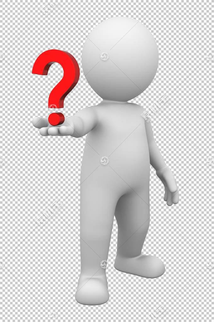 动画问号,s画3D3d,怀疑PNG剪贴画水彩绘画,3D计算机图形学,手,人,