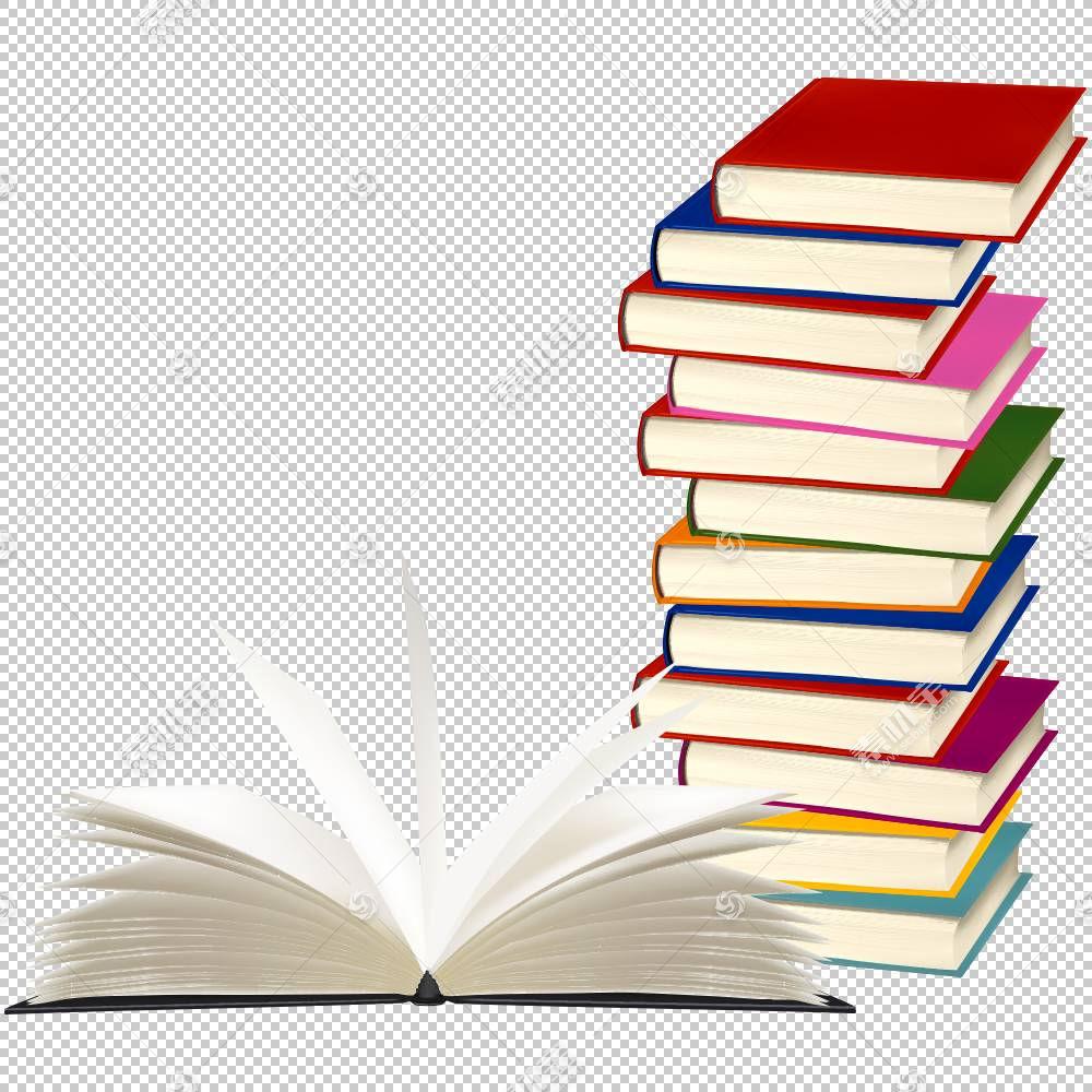 预订版税,卡通书籍PNG剪贴画卡通人物,角度,用品,文本,堆栈,学校