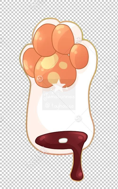 食物卡通,设计PNG剪贴画食品,橙色,卡通,艺术,桃,958638