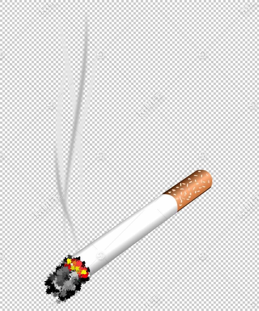 香烟,燃烧的香烟材料PNG剪贴画卡通,材料,卡通香烟,香烟烟,燃烧,