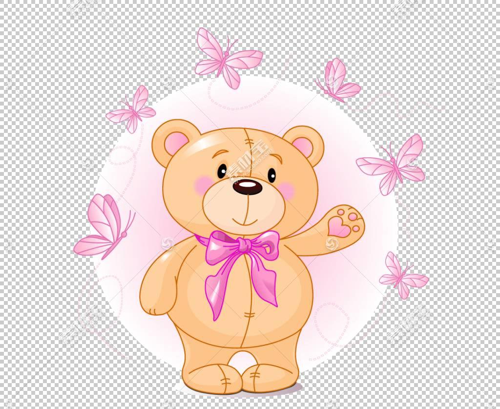 泰迪熊卡通可爱,泰迪熊PNG剪贴画儿童,动物,carnivoran,心,贺卡,