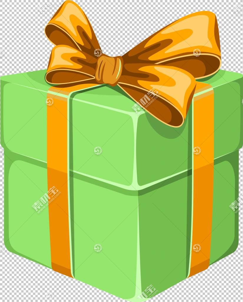 礼品装饰盒,绿色卡通礼品盒PNG剪贴画杂项,简单,装饰,卡通,绿茶,