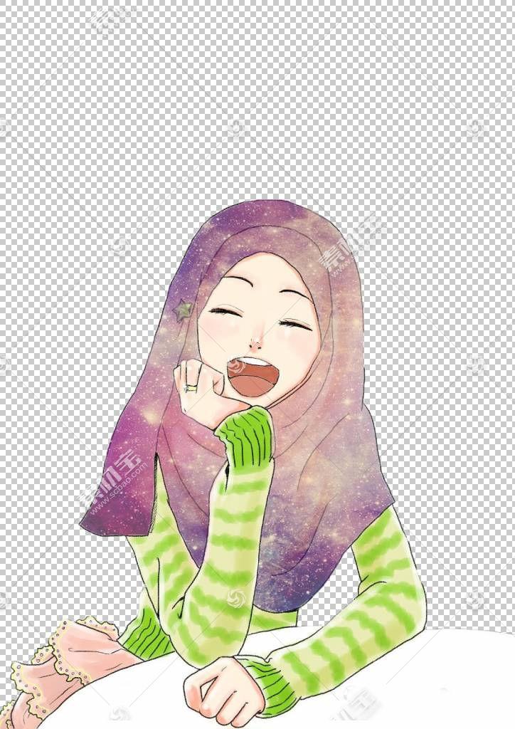 穆斯林绘图伊斯兰教头巾,伊斯兰教PNG剪贴画孩子,脸,手,蹒跚学步,