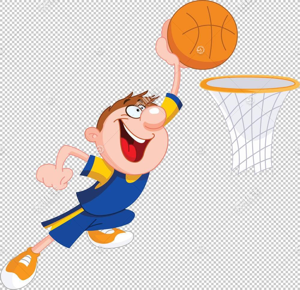 篮球卡通灌篮高手,篮球小子PNG剪贴画儿童,运动,橙色,脊椎动物,孩