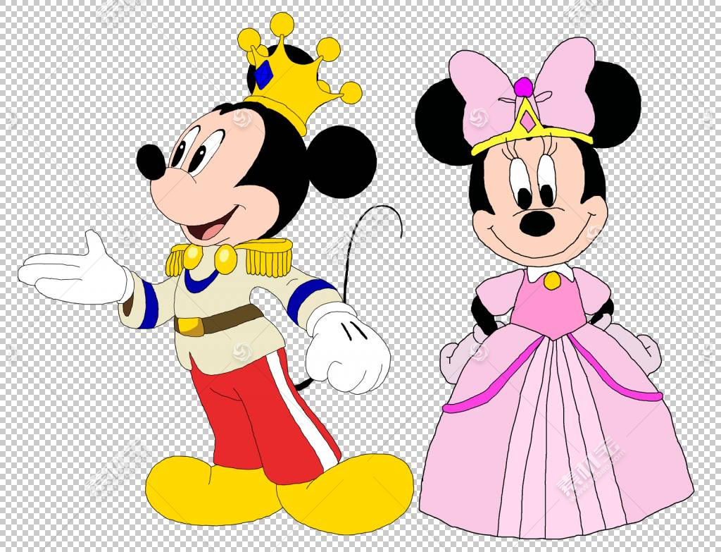 米妮米老鼠高飞公主,米老鼠Y米妮PNG剪贴画孩子,蹒跚学步,迪士尼